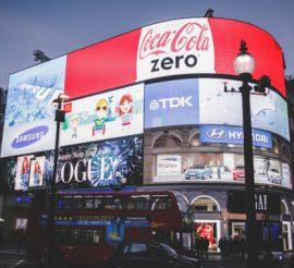 Red Coca Cola Zero Signage-568w